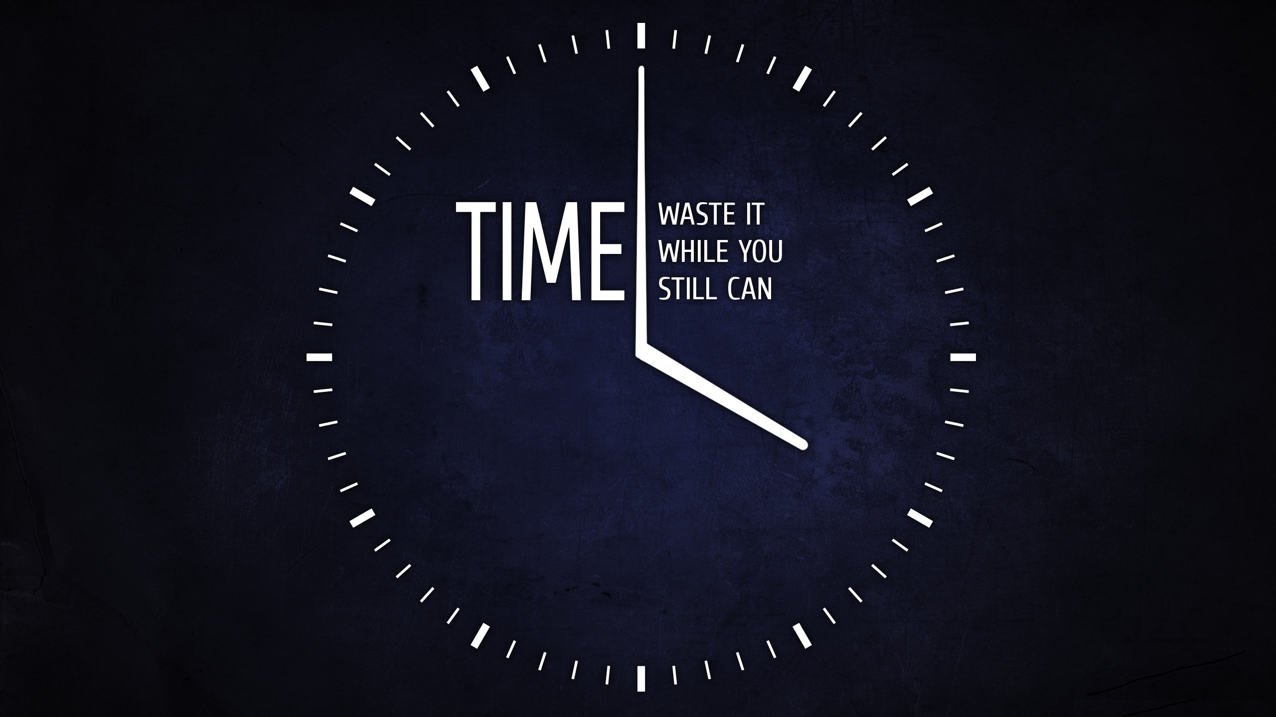 you still have time
